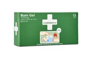 Cederroth Burn Gel palovammataitos , 2 kpl 10 x 10 cm 901900