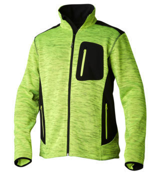 TS Fleece neule/softshell, lime