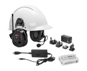 Peltor WS Alert XP Bluetooth MRX21P3E2WS6-ACK kyp. headset, akku+laturi