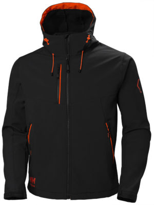 HH Chelsea Evo Hooded Softshell 990 musta