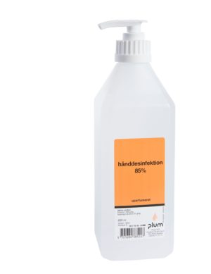 Plum Disinfector 85 % Geeli 0,6l pumppupll