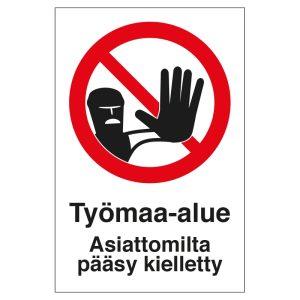 KP Työmaa-alue 300X400 MU