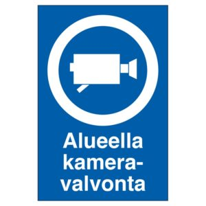KP Alueella kameravalvonta 200X300MU