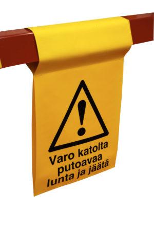 Varoituslippu kiinteistöpuomeihin