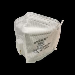 Hengityssuojain FFP2 uloshengitysventtiilillä