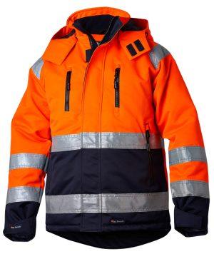 TS HiVis talvitakki 1310 orans/navy