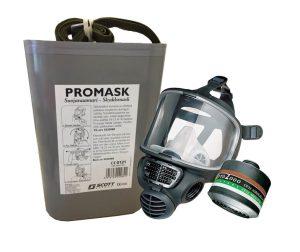 Promask+ABEK-P3 suojakotelossa VSS
