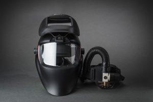 Evolve Air hitsausmaski automaattilasilla