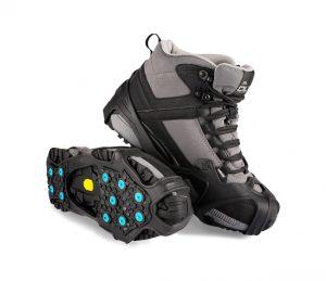 Devisys Blue-Ice liukueste on koko kengänpohjan kattava liukueste