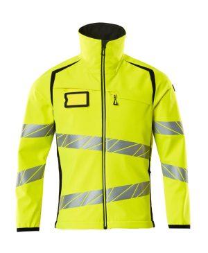 Mascot softshell-takki keltainen