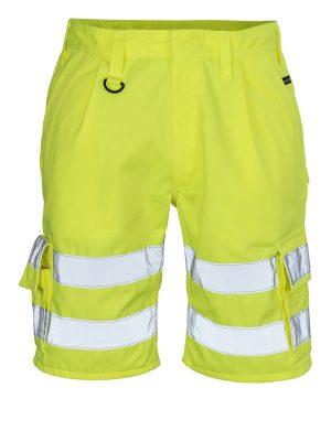 Mascot shortsit Hivis keltainen 10049-470-17