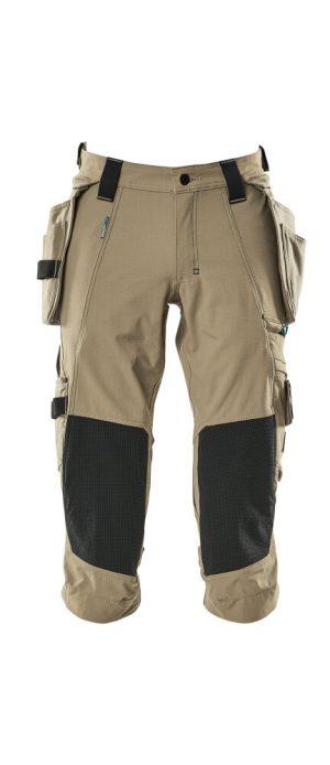 Mascot shortsit polvipituus 17049-311 khaki