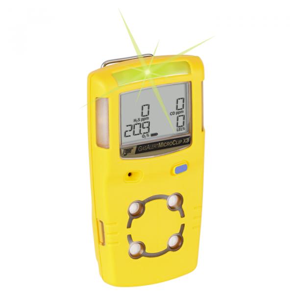 Kaasuhälytin BW MicroClip X3 ladattava monikaasumittari